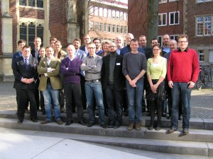 The participants of the first workshop on the history of heralds in Münster (26-28 Mars 2014)